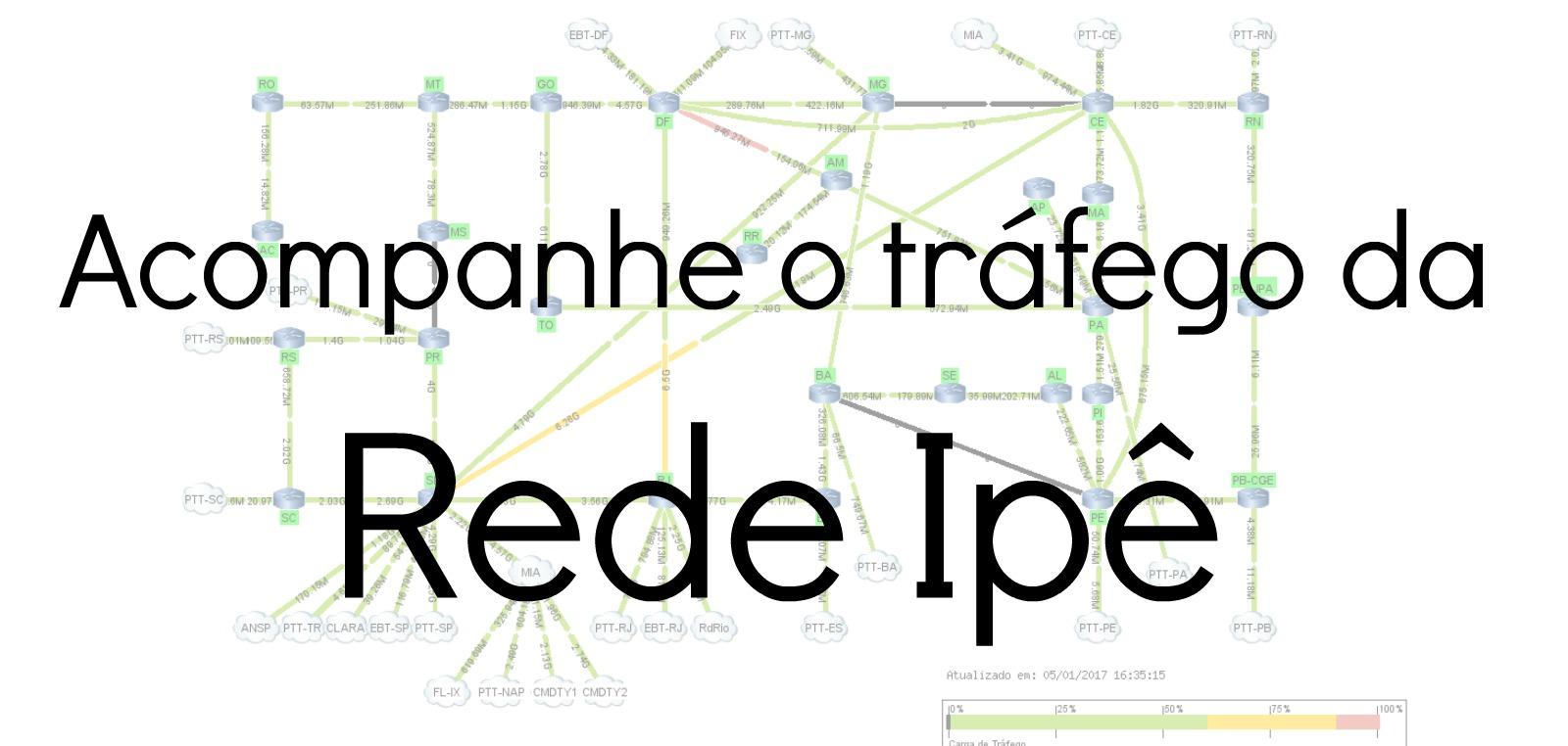 Panorama da Rede Ipê